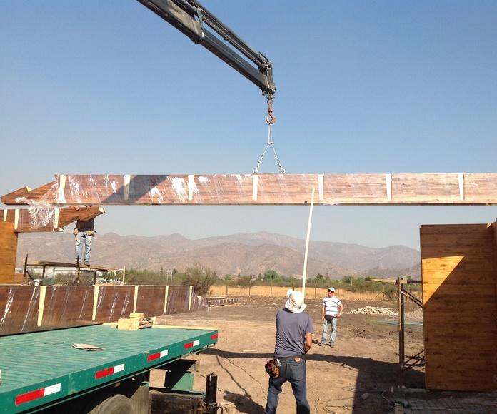 Construcción de grandes estructuras de madera
