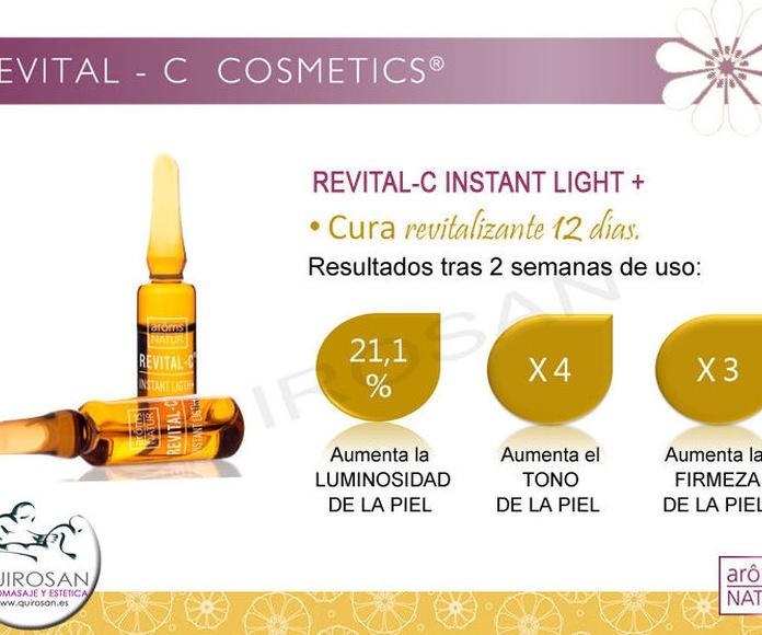 REVITAL-C Cosmetics: Servicios de Quirosan