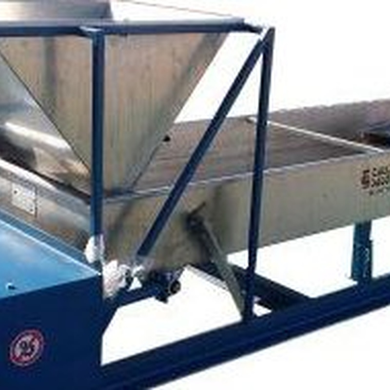 Clasificadora  3 calibres mixta (acero carbono/Inoxidable): CATALOGO PRODUCTOS  MAQUINARIA de Talleres Salo, S.L.