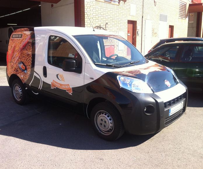 Rotulación de vehículos: Servicios de JMCRotulos