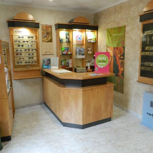 centro óptico en Burriana