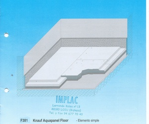 Aquapanel Floor Knauf