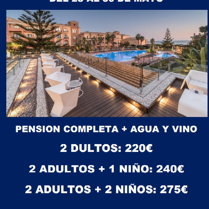 Hotel Barcelo Punta Umbria Mar *: Ofertas de Viajes Global Sur