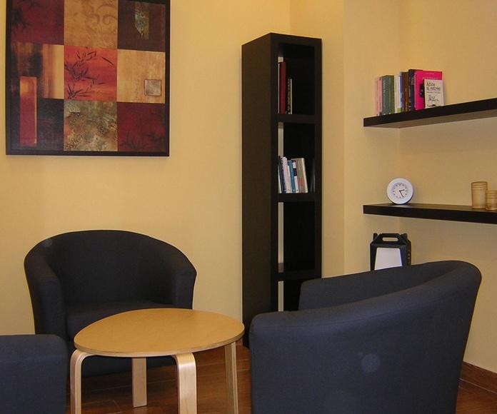Sala de psicologia Centro GOA Oviedo
