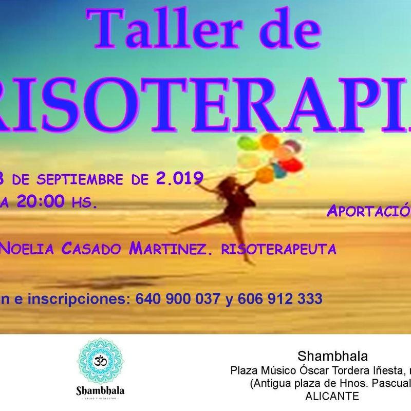 Taller Risoterapia Shambhala Alicante Septiembre