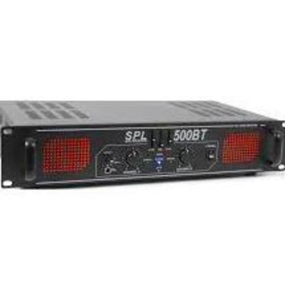 Amplificador estereo profesional SPL-500BT: Nuestros productos de Sonovisión Parla