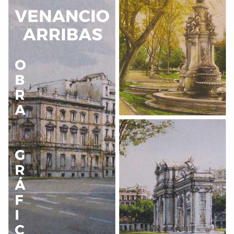 Grabados de Venancio Arribas: catalogo de 4 INGLETES BRAVO MURILLO