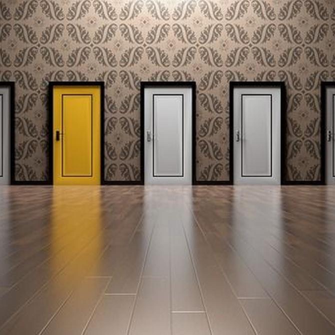 5 razones para elegir una puerta lacada