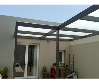 Carpintería de aluminio en general: Servicios de Aluminios Stylolanz