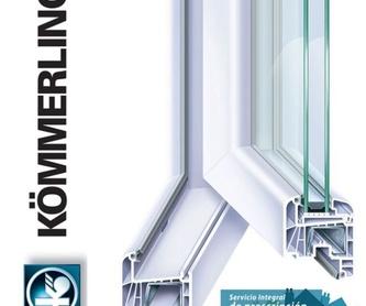 Carpintería metálica de PVC: Servicios de Alulosa