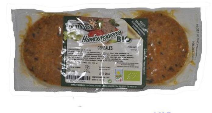 GUMENDI, Hamburguesas vegetales de cereales, setas, provenzal, mediterranea: Catálogo de La Despensa Ecológica