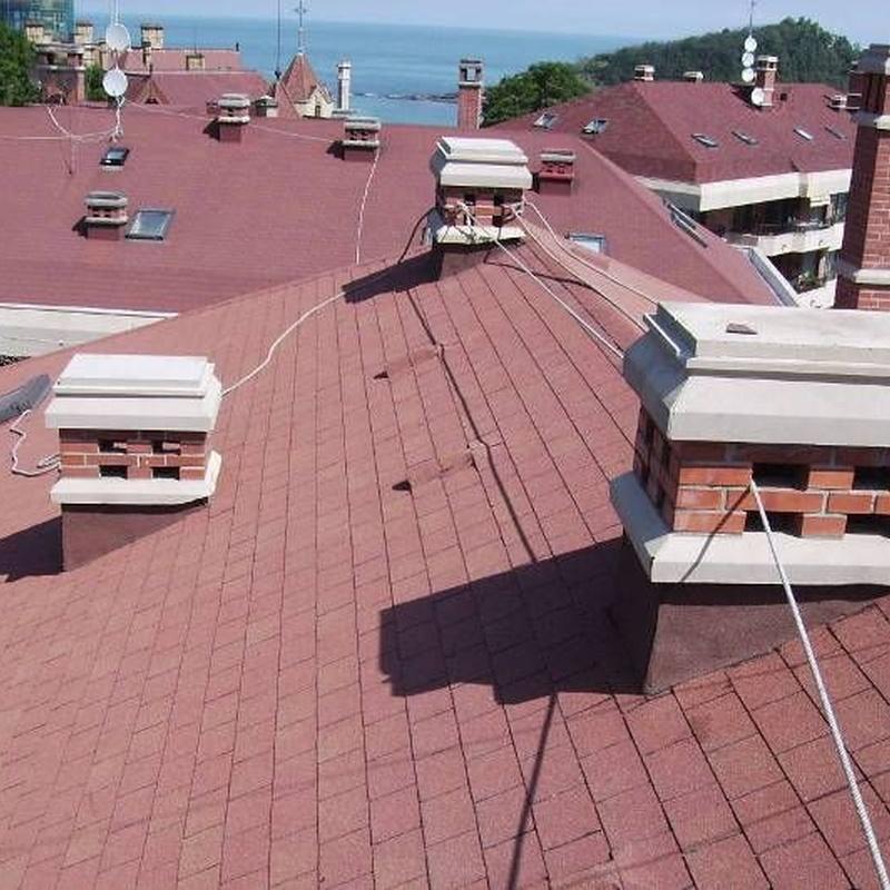 Impermeabilización de cubiertas: Servicios de Kotisal, S.A.