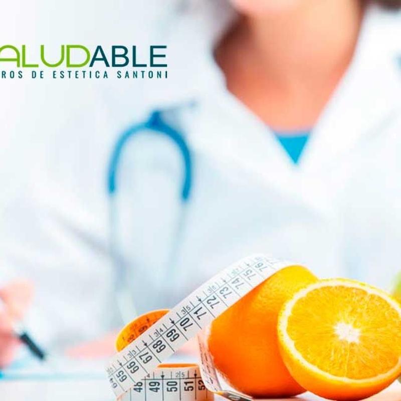 Nutrición: Catálogo de Centro de estética Saludable