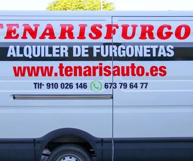 ALQUILER DE FURGONETAS ARGANDA DEL REY