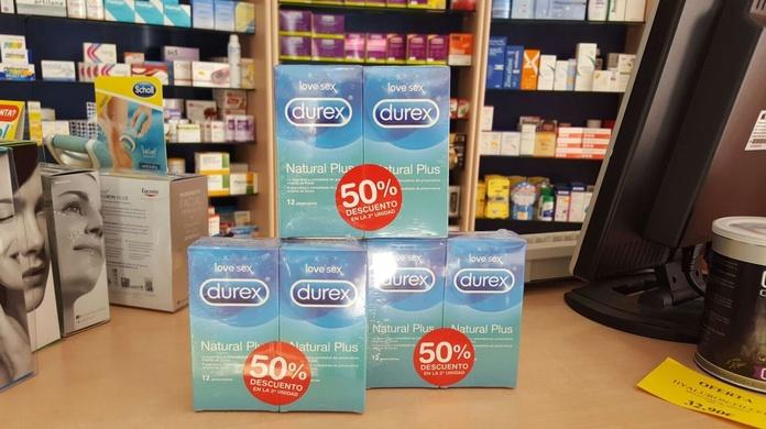 Preservativos Durex Love Sex Natural Plus 12 Ud: Productos y Promociones de Farmacia Lucía