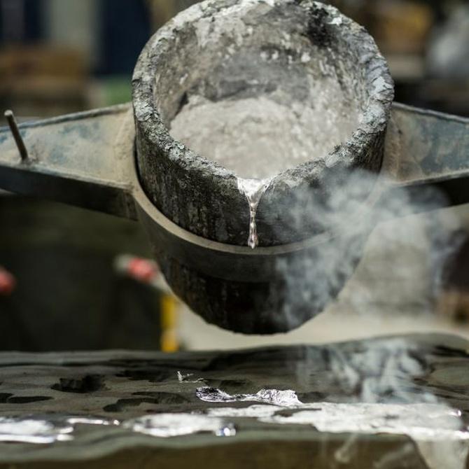 El valor de fundir aluminio para el reciclaje