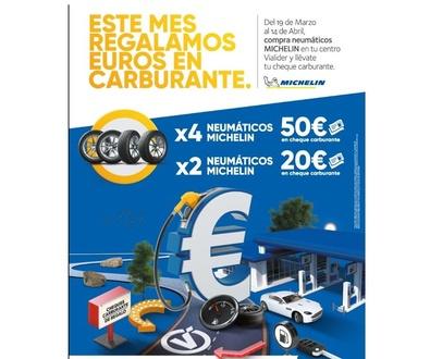 Del 19 de Marzo al 14 de Abril, compra neumáticos Michelin