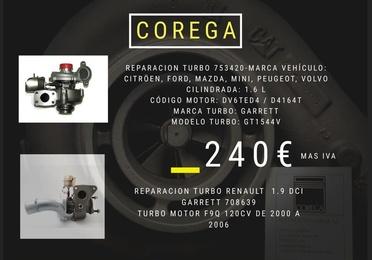 Descuento: Reparación turbo 753420