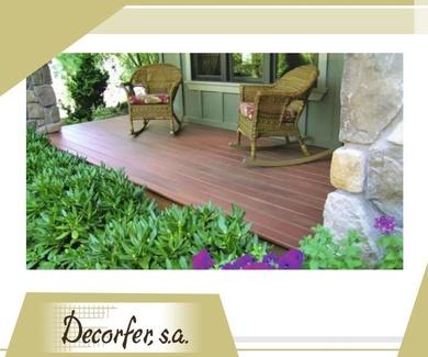 Especialistas en pavimentos decorativos para casa y jardín