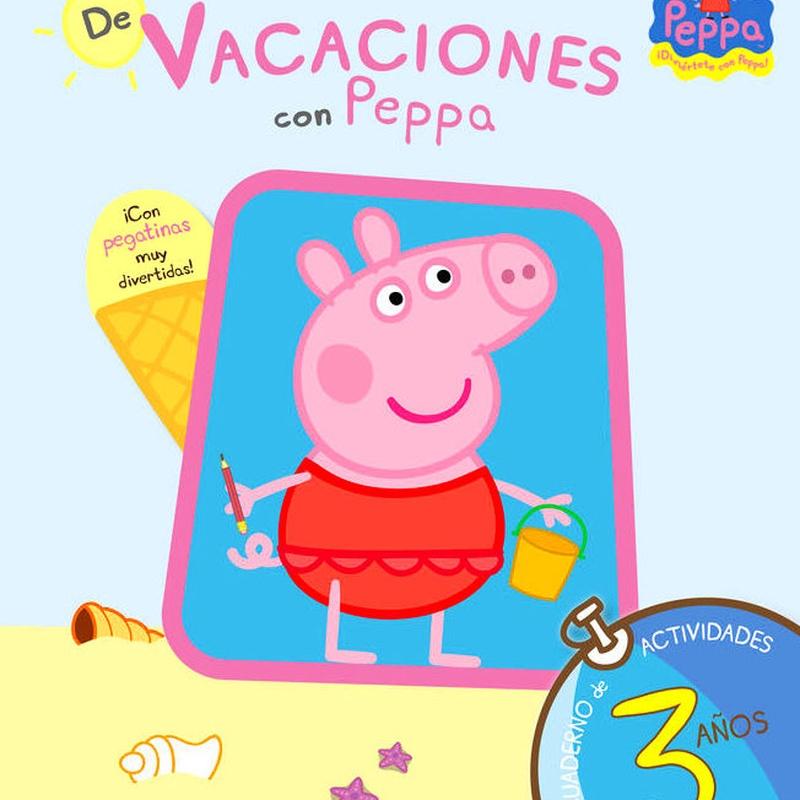 De vacaciones con Peppa.Cuaderno de vacaciones 3 años 9788437281193