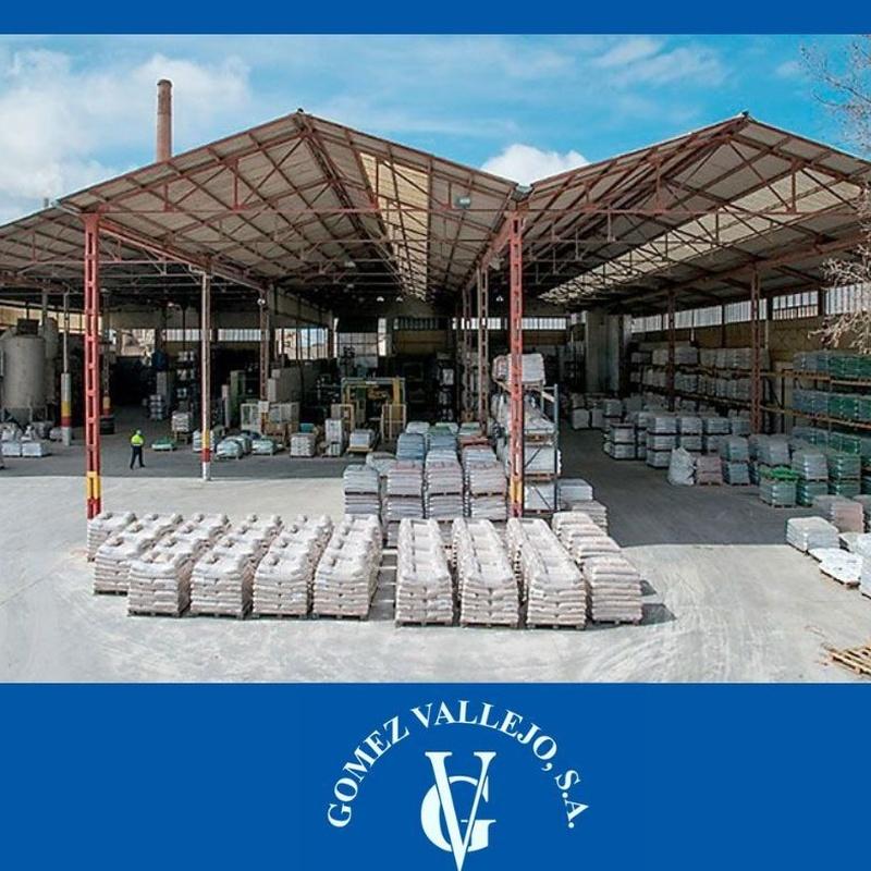 Chorro de arena: Productos y Servicios de Gómez Vallejo, S.A. Arenas Silíceas Especiales