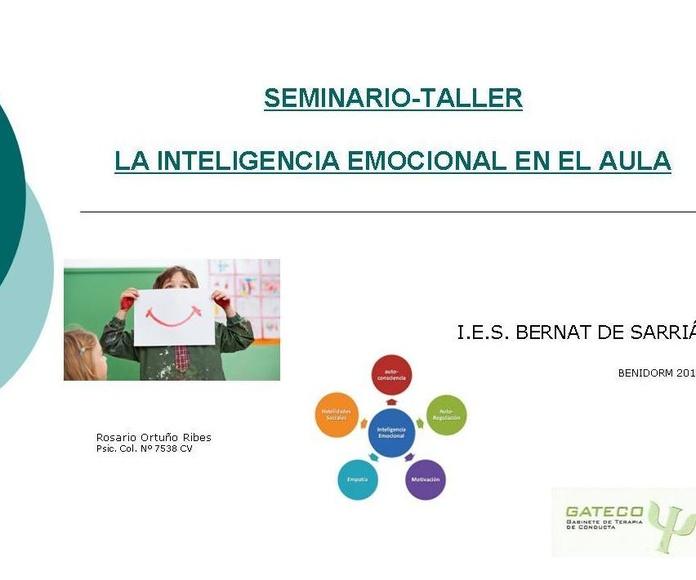 Coaching Educativo e Inteligencia Emocional.: Especialidades de Psicóloga Rosario Ortuño