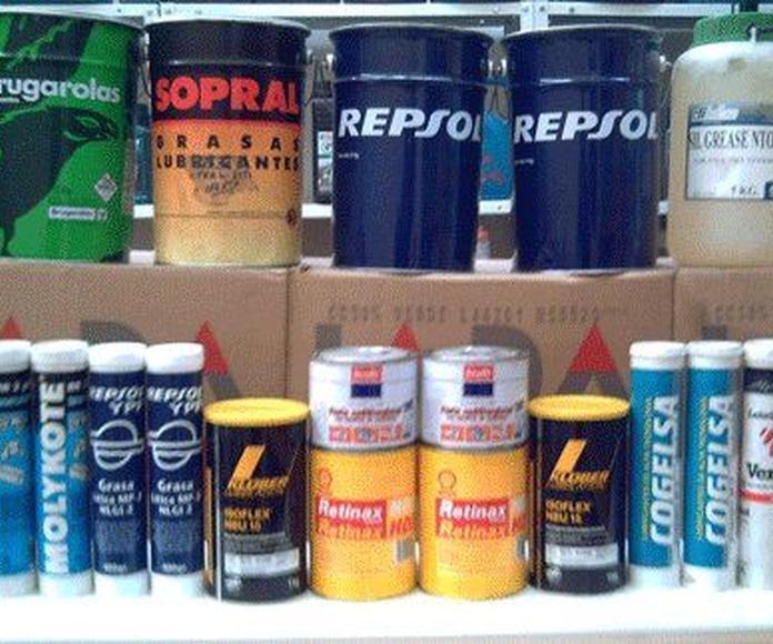 Venta de lubricantes y grasas: Servicios de Comercial Castilla