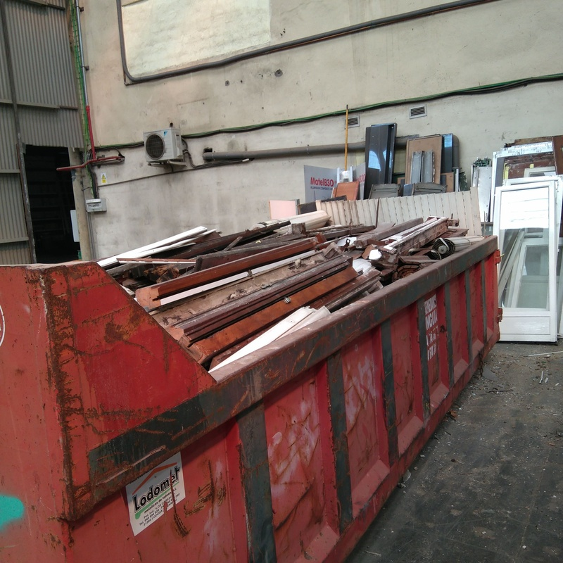 Servicio de recogida de escombro: Servicios de Chatarrería Refegar