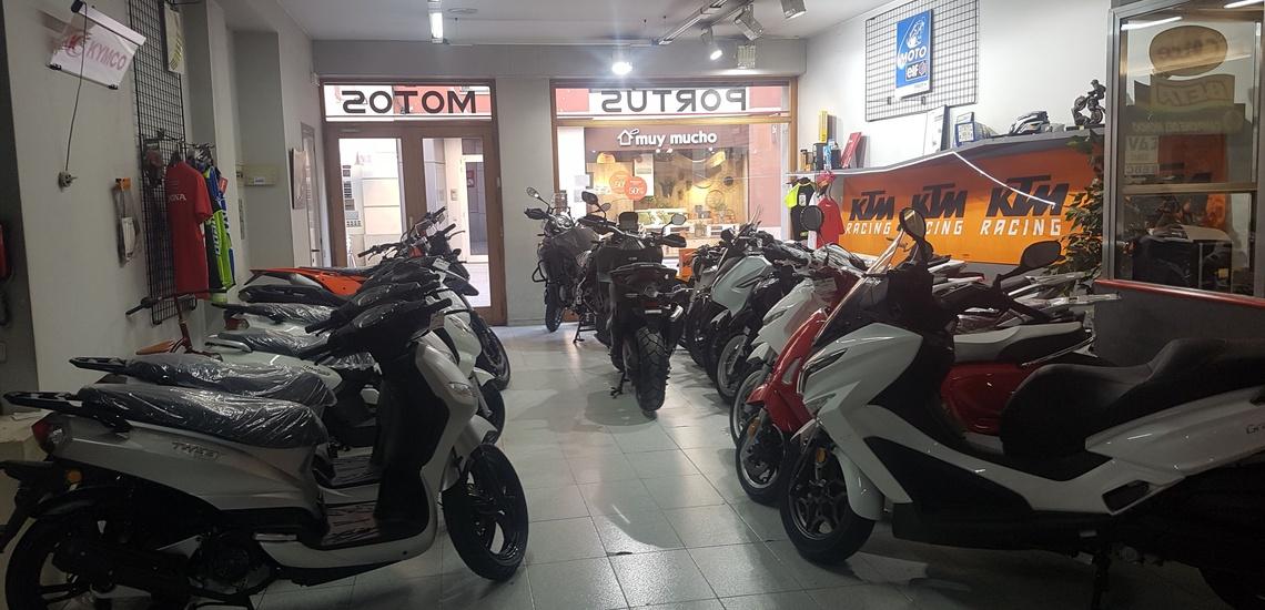 Concesionario de motos en Vic