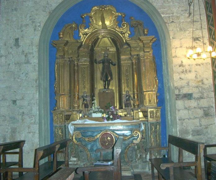 Iglesia de Beget (Girona)