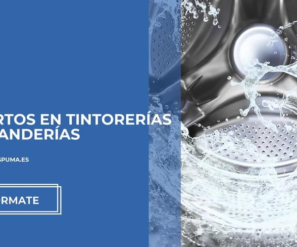 Maquinaria para lavandería autoservicio en Sevilla | Seco y Espuma