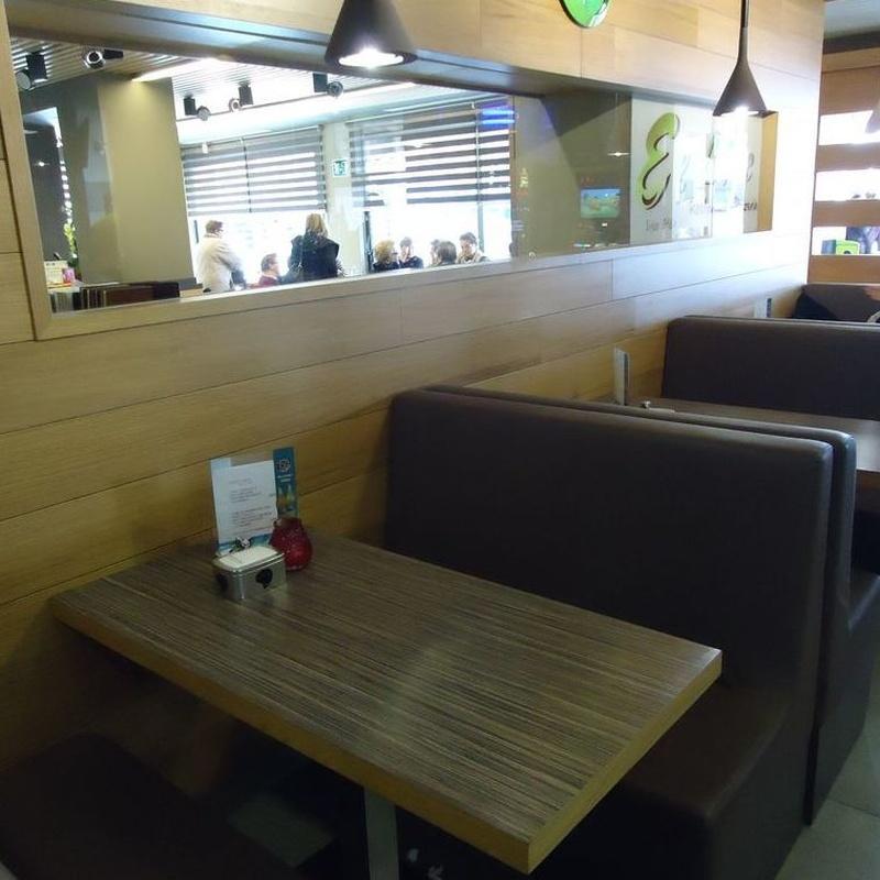 Sándwich y hamburguesas: Carta de El Lloc Restaurante - Pizzería