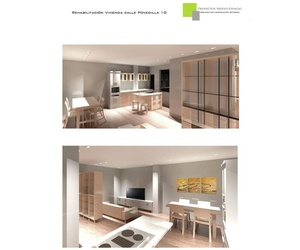 Infografías de reformas de viviendas