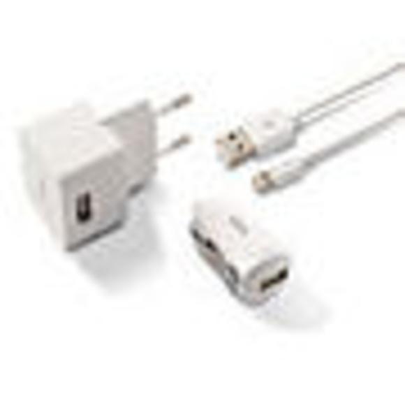 CARGADOR 3 EN 1 KSIX 1A PARA IPHONE 5, 5S, 6, 6 PLUS : Reparaciones de Playmon Servicios Técnicos Fotográficos