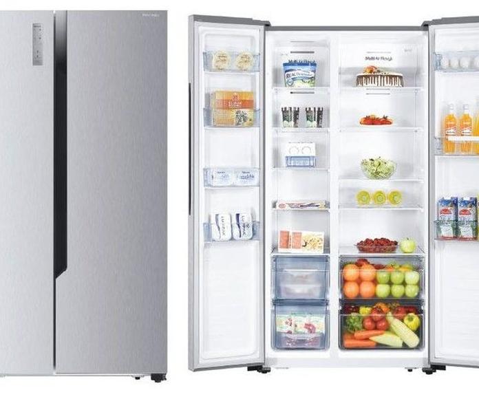 SIDEBYSIDE HISENSE RS670N4HC2 INOX A++ 10 AÑOS DE GARANTIA*---629€: Productos y Ofertas de Don Electrodomésticos Tienda online