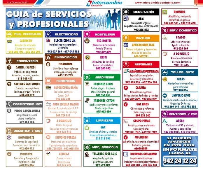 Anuncios Profesionales: Publicar Anuncios de Intercambio Cantabria