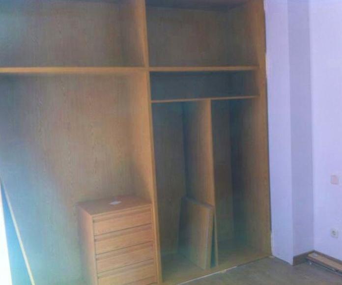 Algunos trabajos de carpintería.: Trabajos realizados de REFORMAS, INSTALACIONES Y CONSTRUCCION ARAGON SLU