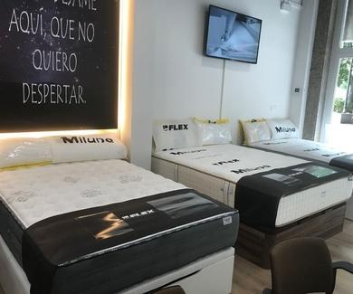 Nueva tienda Flex Miluna en San Mamés