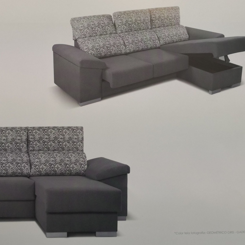 Chaise Longue Aneto GA 265x160 Reclinable y Deslizante Arcon Abatible Desde 480€