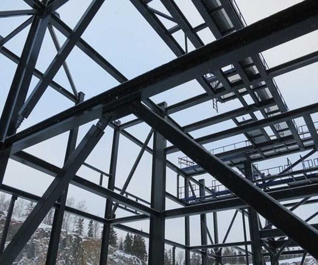 Usos de las estructuras metálicas