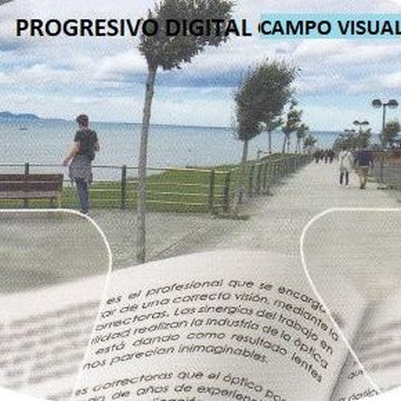 Progresivo digital, campo visual medio: Productos de Centro Óptico Valdavia