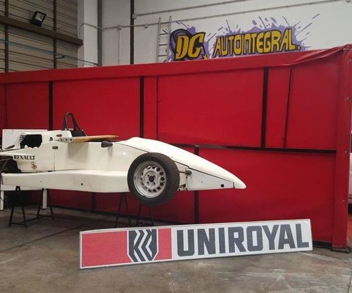 Proyecto deportivo de un formula Renaut