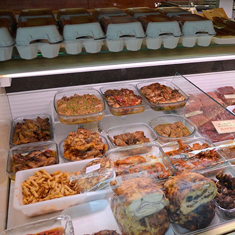 Platos preparados : Nuestros productos de Can Burguet