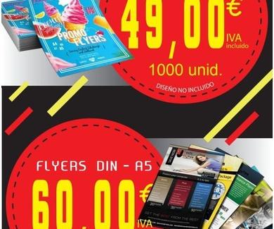 Oferta flyers DIN A5
