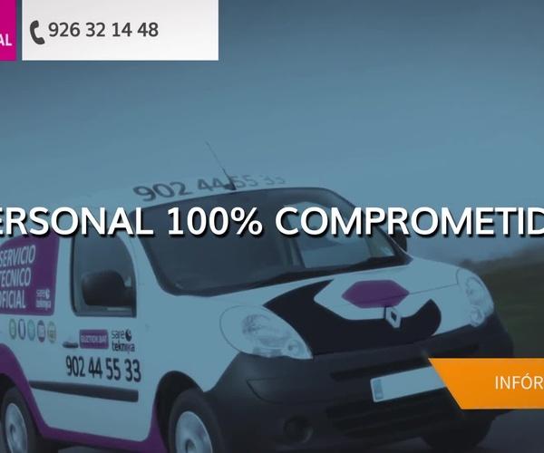 Reparación y mantenimiento de electrodomésticos en Ciudad Real en Valdepeñas | Sat Principal