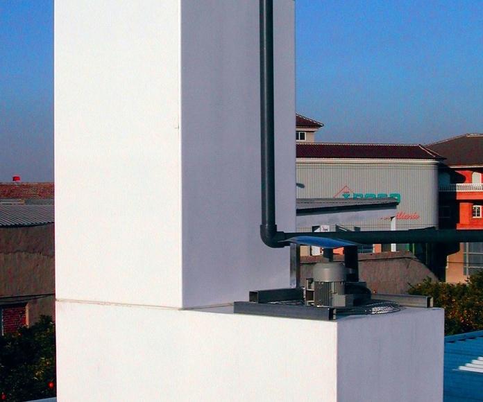 Torre de Refigeración NUCLEOS, fabricada y comercializada por Control y Ventilación, S.L.