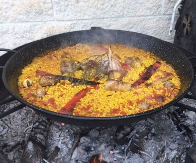 El mejor arroz de conejo y serranas