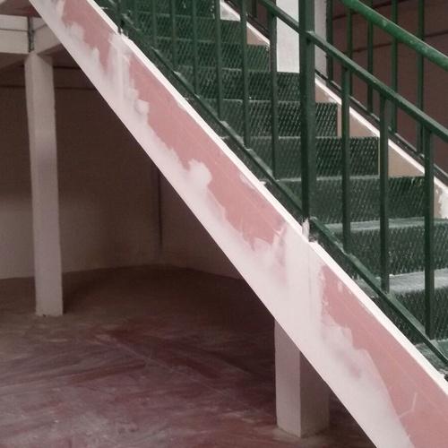 Cajeado escalera Empresa de Ignifugos en Madrid Sella2