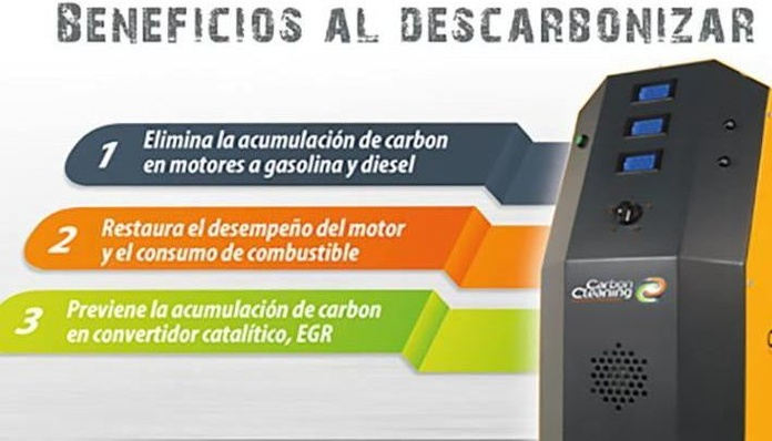 Servicio de descarbonizacion de motor con oxihidrogeno: Servicios  de TALLERES BRAVOCAR, S.L.