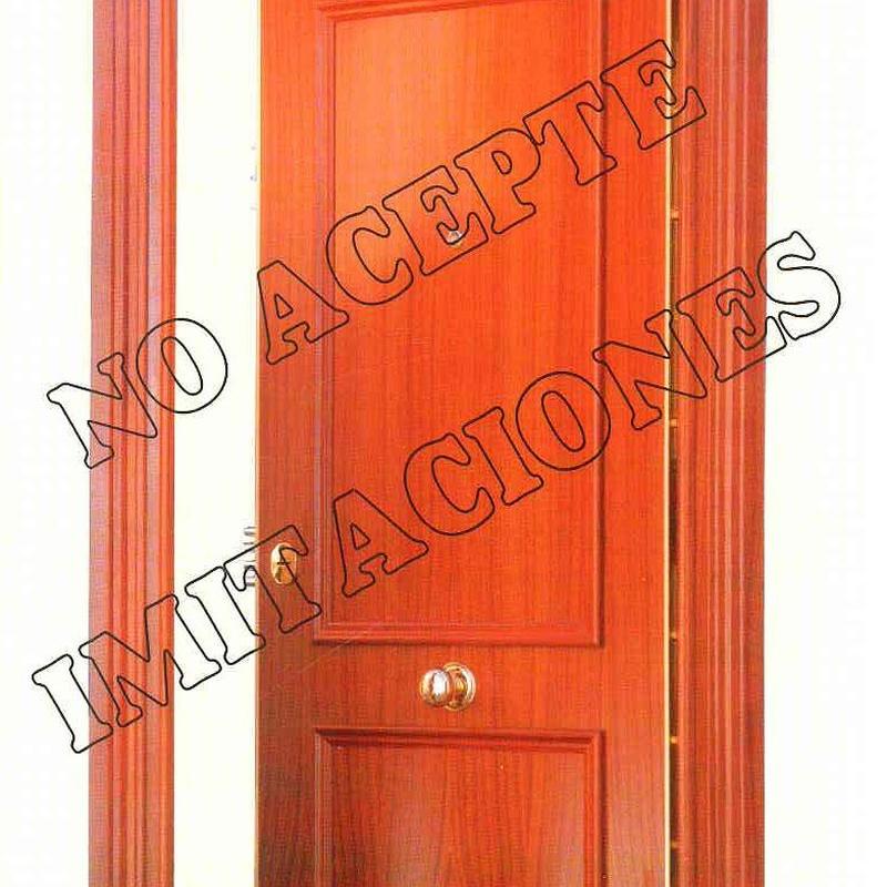 Puerta acorazada KIUSO K100 20S Sapely.